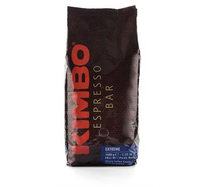 Kimbo Espresso Extreme, 80% Arabica, Espresso Bar Coffee, Whole Coffee Beans