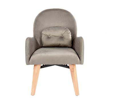 Homez Derya Stylish Designed Armchair, Light Brown
