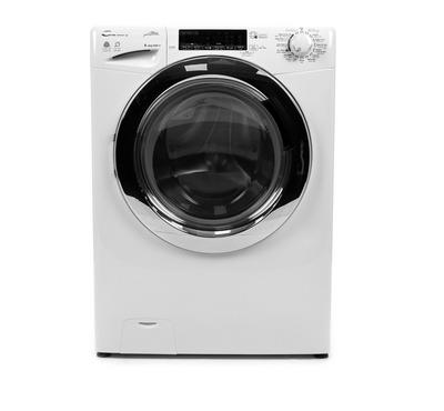 Candy Front Load Fully Automatic Washer/Dryer, 8KG/6KG-wash/ dry,Inverter, White