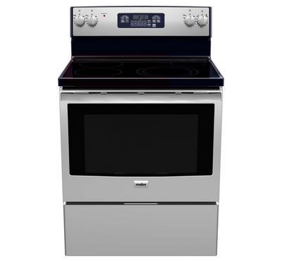 Mabe 76x70cm Vetro Ceramic Cooking Range US Style Stainless