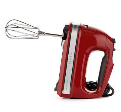 KitchenAid 9 Speed Handmixer, Empire Red