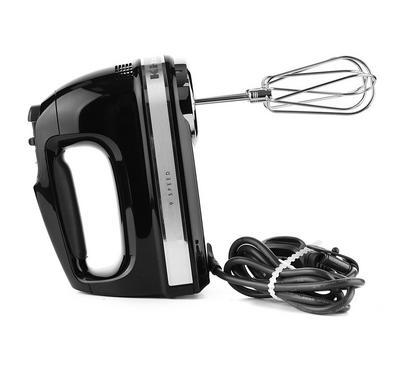 KitchenAid 9 Speed Handmixer Onyx Black