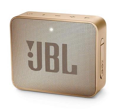 JBL GO 2 Portable Bluetooth Speaker Champagne