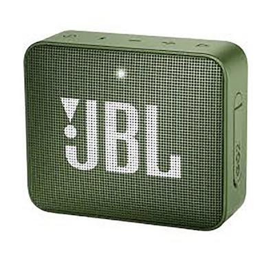 JBL GO 2 Portable Bluetooth Speaker Green