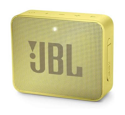 JBL GO 2 Portable Bluetooth Speaker  Yellow
