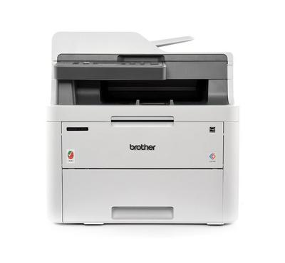 Brother Wireless Colour LED, Printer, Print, Copier, Scanner, White