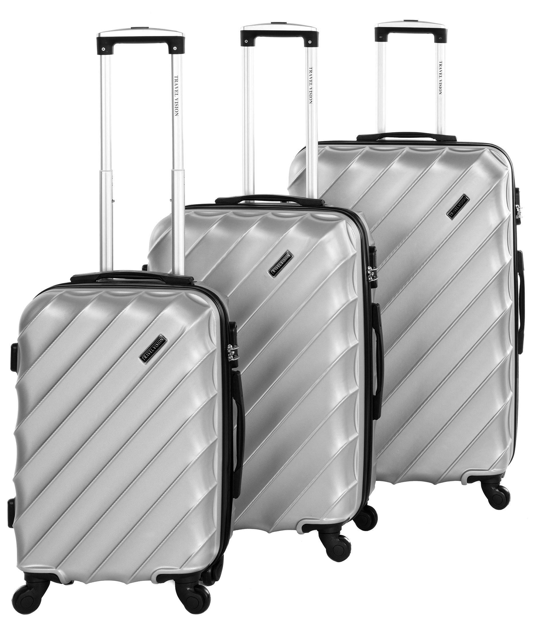 Travel vision wave set of 3 - 20/24/28, Silver
