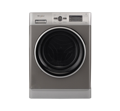 Whirlpool Front Load Washer 9 Kg/Dryer 6 Kg, 14 Programs, Silver