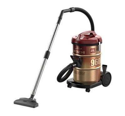 Hitachi 960F 21.0L Drum Vacuum Cleaner 2200W Steel Wine Red