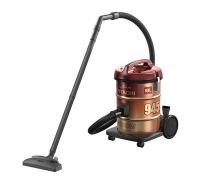 Hitachi 945F 18.0L Drum Vacuum Cleaner 2000W Steel Wine Red