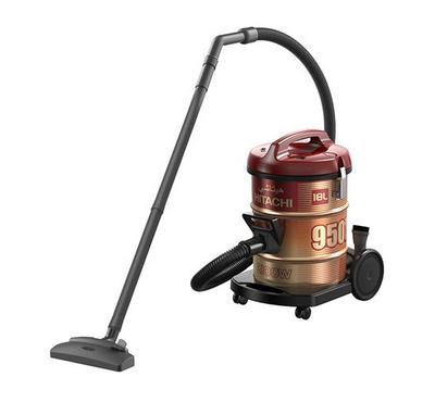 Hitachi Vacuum Cleaner, 18.0L Drum Type, 2100W, Steel, Wine Red