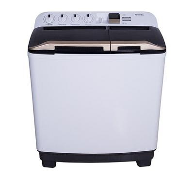 Toshiba Twin Tub Semi Automatic Washing Machine , 10 kg, White