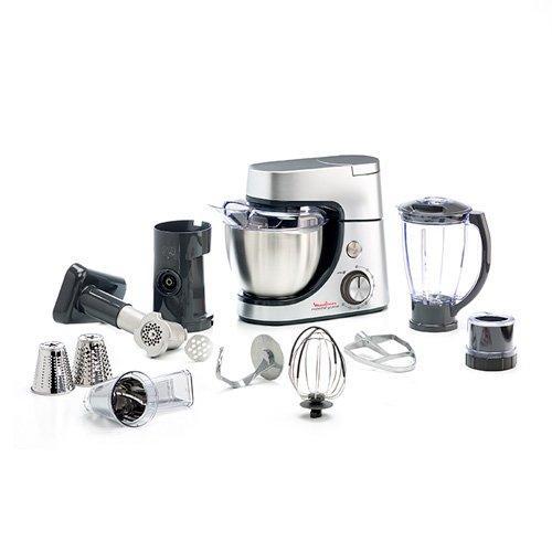 ماكينة المطبخ مولينكس ماستر شيف بسعة 4.6 لتر (QA513D27) - فضي