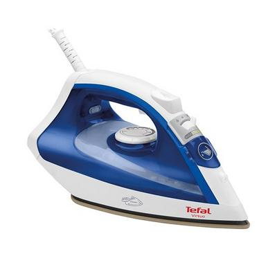 Tefal Steam Iron, 1800W, Ceramic Easy Gliding Technology, Blue