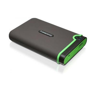 TRANSCEND Storejet 2TB, USB 3.1, Iron Grey