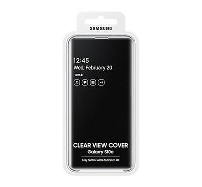 Samsung Galaxy S10e Clear View Cover Black
