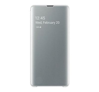 Samsung GALAXY S10+ Clear View Cover White
