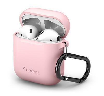 Spigen AirPods Silicone Case, Pink