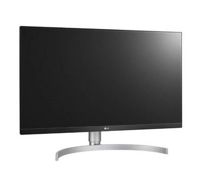 27UK850-W--LG 27 Ultra HD IPS LED Monitor, 4K, Resolution 3840x2160, 2 HDMI in, USB 3.0, Black