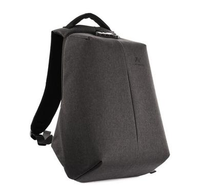 Lavvento Discovery Laptop Anti-Theft Backpack Bag, 15.6 inch, Dark Grey