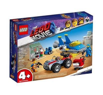LEGO The Lego Movie 2 Emmet and Benny's 'Build and Fix' Workshop