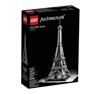ليجو، ألعاب البناء التركيب، فن العمارة برج إيفيل