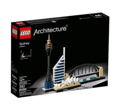 ليجو، ألعاب البناء التركيب، فن العمارة سيدني