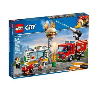 ليجو، ألعاب البناء التركيب، سيارة إنقاذ حريق البرغر