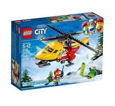 ليجو، ألعاب البناء التركيب، طائرة هيلوكوبتر امبولانس