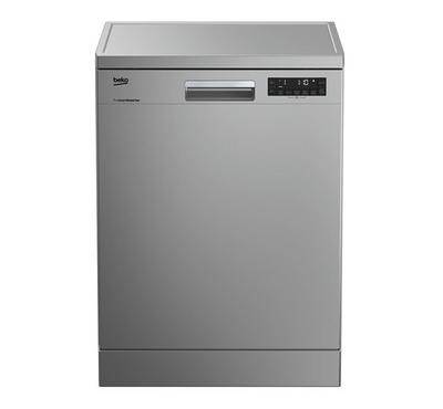 Beko Dishwasher 8 Program, 15 Place Setting, Silver