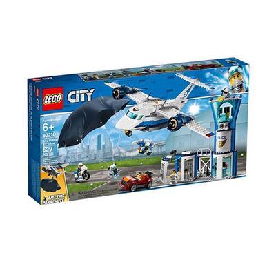 ليجو، ألعاب البناء التركيب، شرطة سيتي سكاي قاعدة الجو