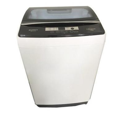Supra Washing Machine, Top Load, 13KG, Steel Body, White