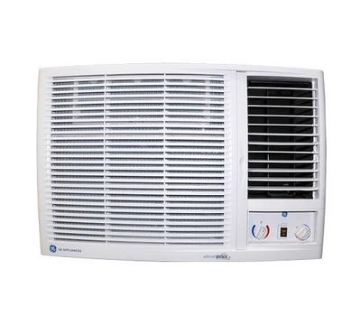 GE Window AC, 18,500 BTU Heat and Cool, Reciprocating Piston Compressor