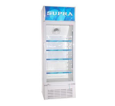 سوبرا ثلاجة عرض باب واحد، 400 لتر، أبيض