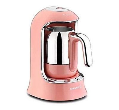 Korkmaz Turkish Coffee Machine, 400W, Pink