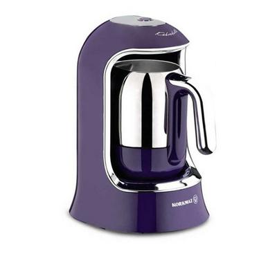 Korkmaz Turkish Coffee Machine, 400W, Purple
