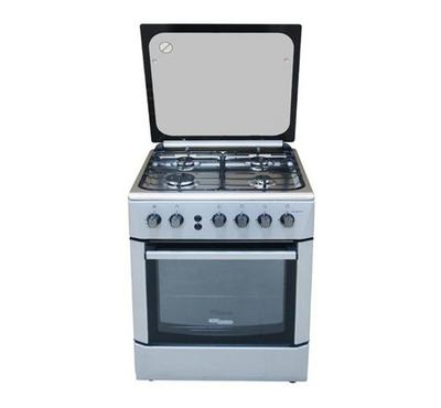 Super General 60X60 freestanding 4 Burners Cooking Range, stainless ssteel