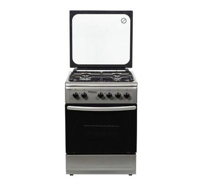 Super General 50X50 free standing 4 Burners Cooking Range, stainless steel