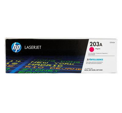 CF543A--HP 203A Magenta Original Laserjet Toner Cartridge