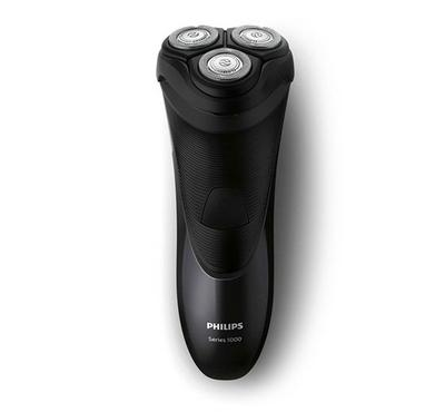Philips Dry Electric Shaver, Corded with Closecut Blade System, Pop-Up Trimmer