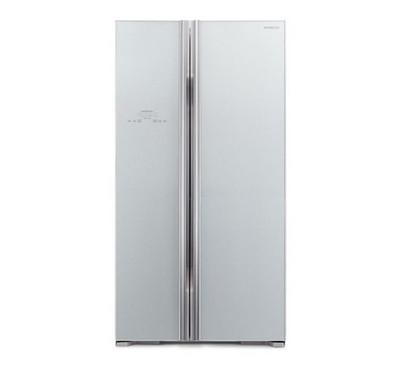 Hitachi GLASS SERIES 700.0L SBS Fridge Glass Silver