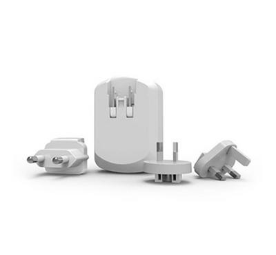 E-Strong travel charger 3usb 3.4A with iphone cable white
