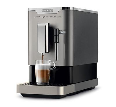 سينكور صانعة القهوة إسبريسو الأوتوماتيكية، فضي