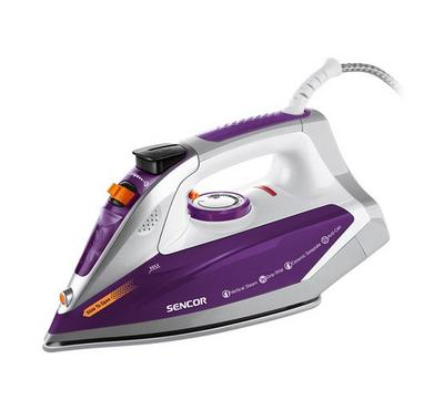 Sencor Steam Iron Ceramic Soleplate 2400W Violet