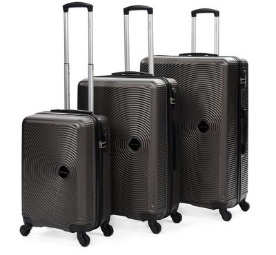 Travel Gear Classic Set Of 3- 20/26/30, Dark Grey