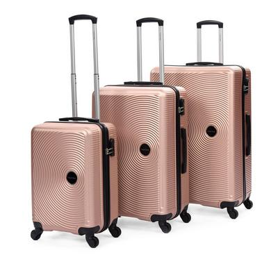 Travel Gear Classic Set Of 3- 20/26/30, Pink Champagne