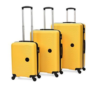 Travel Gear Classic Set Of 3 - 20/26/30 Yellow.Mustard