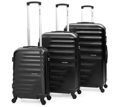 Travel Gear Horizontal Set Of 3 -20/26/30, Black