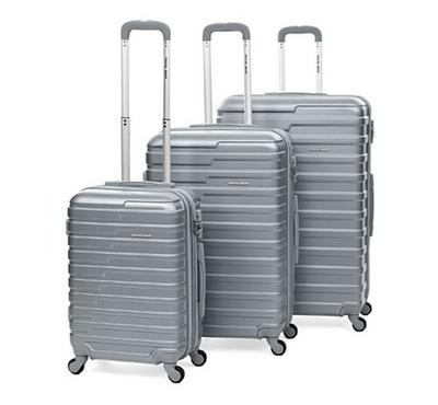 Travel Gear Exclusive Set Of 3 -20/26/30 Clear Grey