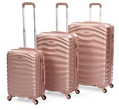 TravelGear Premium Set Of 3 -20/26/30, Pink Champagne